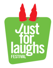 Just for laughs Festival logo